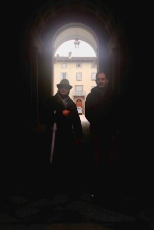 Con l'amico Matteo Servidati