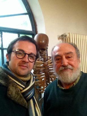 Con Luciano Ragozzino. Milano, 21 dicembre 2017