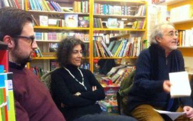 Con Maria Grazia Calandrone ed Ernesto Marchese