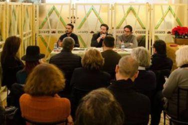 Hotel Annalena, Firenze 2015, con Daniele Semeraro e Marco Incardona