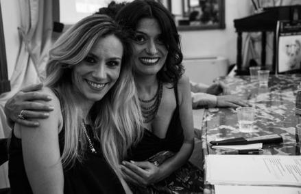 con Gabriella Grande e Annamaria Calia