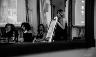 con Gabriella Grande, Annamaria Calia, Gianpaolo G. Mastropasqua