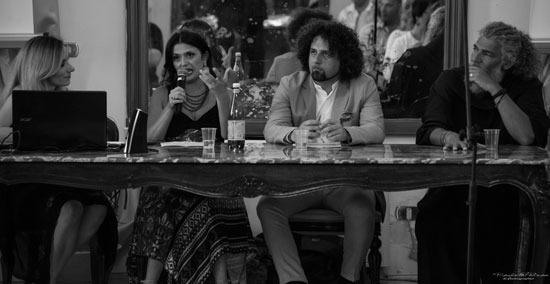 con Annamaria Calia e Gianpaolo G. Mastropasqua