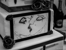 """Torta """"Il Bacio dell'anima"""" Pasticceria Martinucci, Bari"""