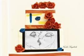 """Torta """"Il bacio dell'anima"""" Pasticceria Martinucci"""