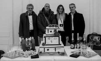 Con Pio Meledandri, Clemente Francavilla, Gabriella Grande, Alessandro Salvatore