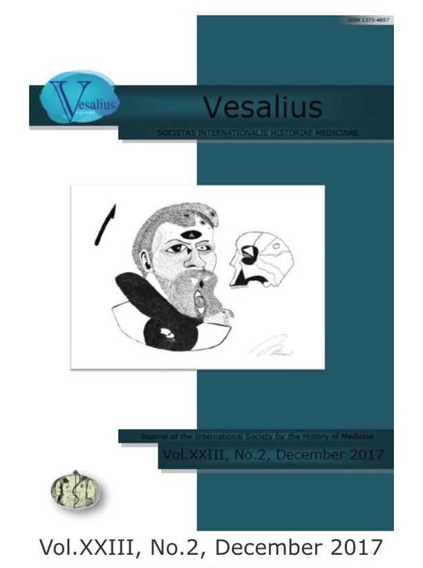 Vesalius. Journal of the International Society for the History of Medicine