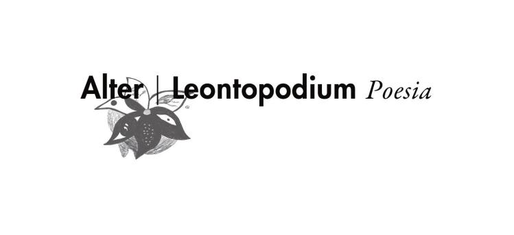 Logo disegnato da Andrea Bassani per la collana di Poesia Leontopodium (Ensemble Editore)