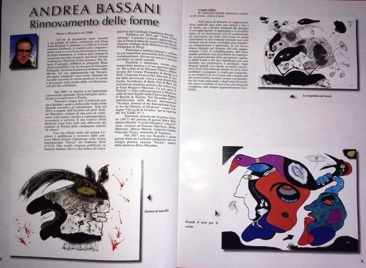 """""""Andrea Bassani. Rinnovamento delle forme"""". Rivista d'Arte LIBURNI, giugno 2018"""