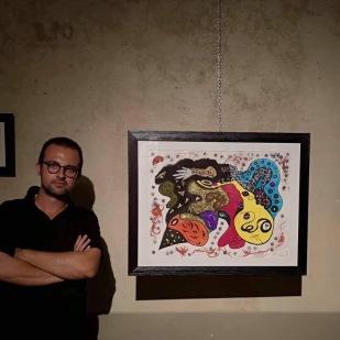 """""""Pensare fa male agli occhi"""" di Andrea Bassani - Studio Rosai, Firenze Ph: Duccio Ricciardelli"""