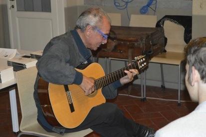 maestro Pino Arborea Ph Duccio Ricciardelli