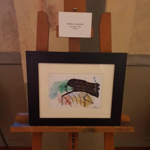 """""""Donna in viaggio"""" di Andrea Bassani - Studio Rosai, Firenze"""
