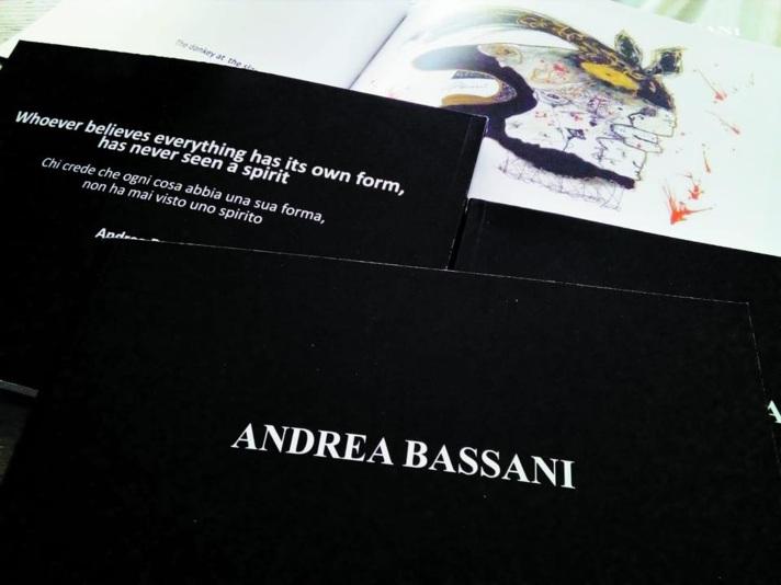 Catalogo d'Arte ANDREA BASSANI (inglese - italiano). A cura di Gabriella Grande. Traduzione di Martina Bassani. Luglio 2018. Fig. 1