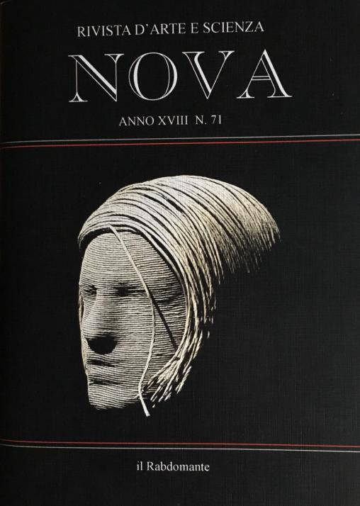 Rivista d'Arte NOVA Anno XVIII n. 71 AUTUNNO-INVERNO 2018