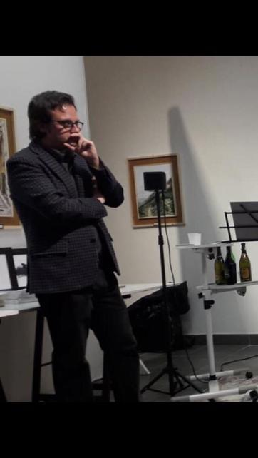LA POESIA È IMMAGINE di Andrea Bassani. Galleria d'Arte ARTISTIKAMENTE di Pistoia Fig. 2