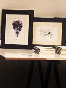 LE SFUMATURE DELL'AMORE e IL VOLO di Andrea Bassani, 14,8x21 cm, 2018