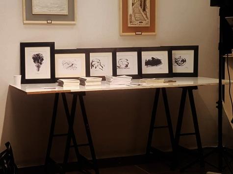 Le chine di Andrea Bassani in esposizione nella Galleria d'Arte ARTISTIKAMENTE di Piatoia. Ph Donatella Solmi Fig.1