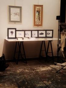 Le chine di Andrea Bassani in esposizione nella Galleria d'Arte ARTISTIKAMENTE di Piatoia. Ph Donatella Solmi Fig.2