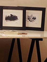 LA SPOSA e LA CREAZIONE DELL'UOVO di Andrea Bassani 14,8X21 cm, 2018. Galleria d'Arte Artistikamente, Pistoia